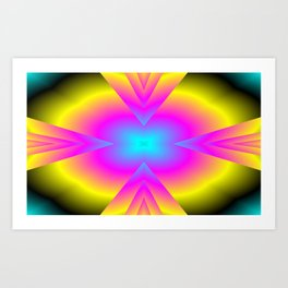 spectral colors Art Print