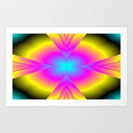 spectral colors Art Print