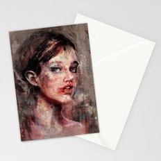 Be Good, Damaged Baby Doll Stationery Cards