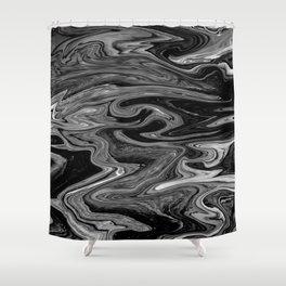 Marbled XIX Shower Curtain