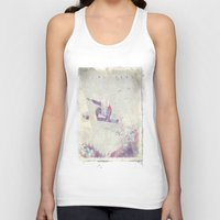 snowboard Tank Tops featuring Explorers IV by HappyMelvin