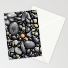 Blacksand Beach Rocks Stationery Cards
