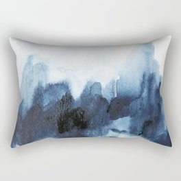 Indigo watercolor 2 Rectangular Pillow