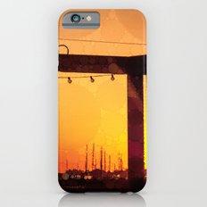 Yacht Basin Marina View Sunset Southport NC iPhone 6s Slim Case