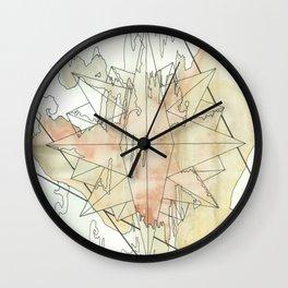 C.O.M.P.A.S.S. No. 8 Wall Clock
