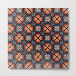 Metallic Deco Copper Metal Print