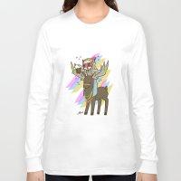 thranduil Long Sleeve T-shirts featuring Party Thranduil by BlacksSideshow