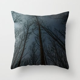 The Night Calls Throw Pillow