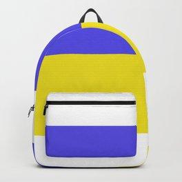 Ukrainian flag Backpack