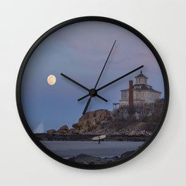 Surf's Over Wall Clock