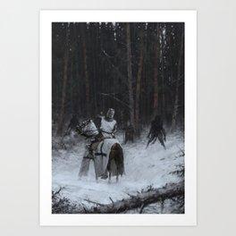 Samogitia 1409 Art Print