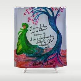 No Bird Shower Curtain