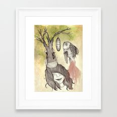 Balancing Life Framed Art Print