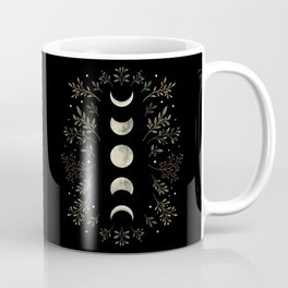 Moonlight Garden - Olive Green Coffee Mug