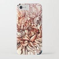 dahlia iPhone & iPod Cases featuring Dahlia by Irina Vinnik