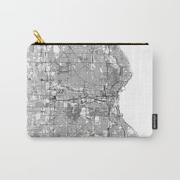 Milwaukee White Map Carry-All Pouch