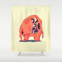 dorothy Shower Curtains featuring Dorothy by semiskimmedmin