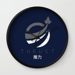 Thrust Wall Clock