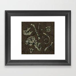 Dem Bones Framed Art Print