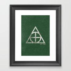 Knights Logo Framed Art Print