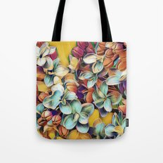 Painted Lilacs Tote Bag