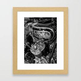 A J Stevens Transverse Twin Framed Art Print