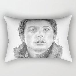 Marty McFly Portrait Rectangular Pillow
