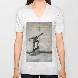 The Skater Unisex V-Neck