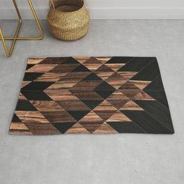 Urban Tribal Pattern No.11 - Aztec - Wood Rug