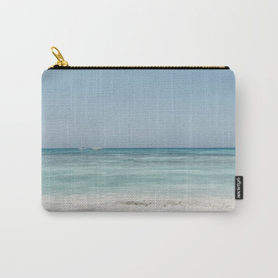 Crash Into The Sea Carry-All Pouch