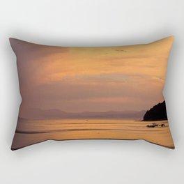 Golden Summer Rectangular Pillow