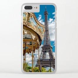 I heart Paris Clear iPhone Case