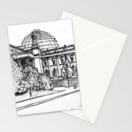 Berlin Reichstag Stationery Cards