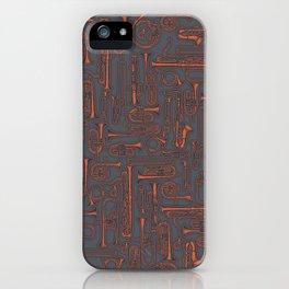 Horns COPPER iPhone Case