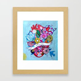 Amore Framed Art Print