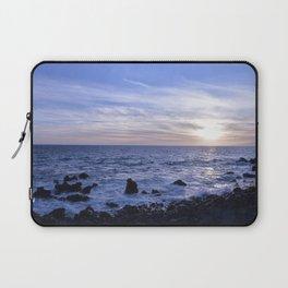 Salsedine al tramonto. Laptop Sleeve