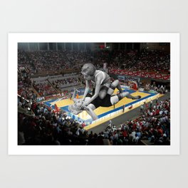 Basketbraw Art Print
