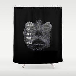 Alien Lover Shower Curtain