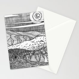 Cabin on the Hill Stationery Cards