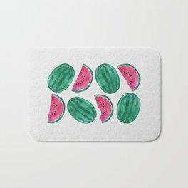 Watermelon Crowd Bath Mat
