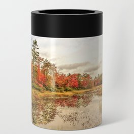 Autumn Fall Foliage Grantham New Hampshire Can Cooler