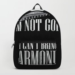 Mouth Harmonica Player - Musician Gift Idea Backpack