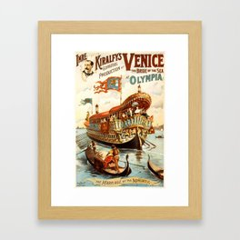 Venice, The Bride of the Sea Framed Art Print