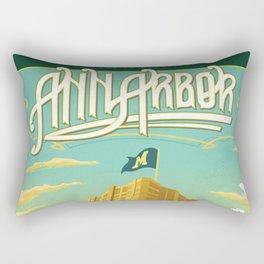 Ann Arbor Union Rectangular Pillow