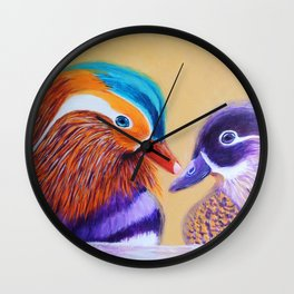 Lovers   Amants Wall Clock