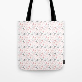 cute cacti in the desert. Tote Bag