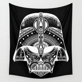 Mandala Darth Vader - White Wall Tapestry