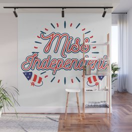 Independence Day 4th July American Merica Gift Wall Mural