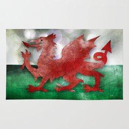 Wales - Cymru Rug