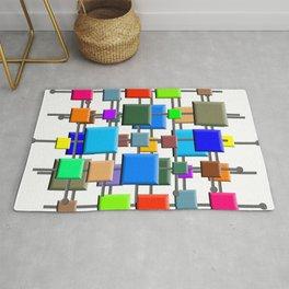 Midcentury Squares Rug